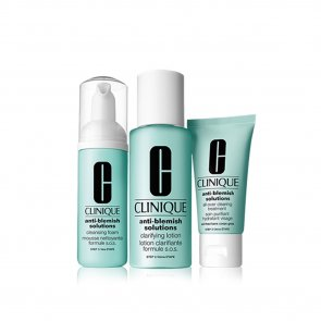 GIFT SET: Clinique Anti-Blemish Solutions 3-Step Skin System