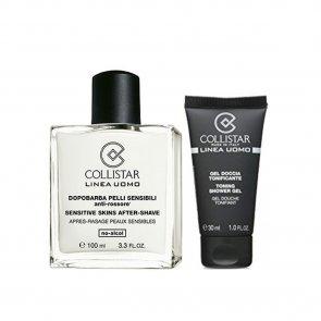PROMOTIONAL PACK: Collistar Men Sensitive Skin After-Shave 100ml + Shower Gel 30ml