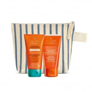 GIFT SET: Collistar Protection Cream SPF30 150ml + After Sun Shower 150ml + Bag