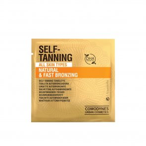 Comodynes Natural Self-Tanning Wipes x1