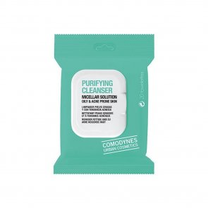 Comodynes Purifying Cleanser Wipes Oily & Acne Prone Skin x20