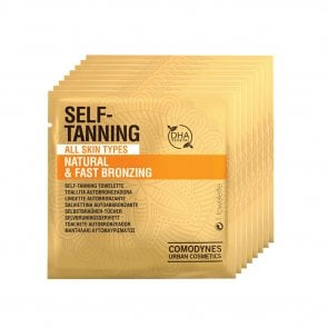 Comodynes Natural Self-Tanning Wipes x8