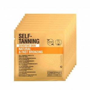 Comodynes Sensitive Skin Self-Tanning Wipes x8