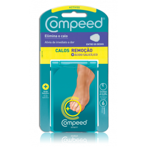 Compeed Corn Active Between Toes Plasters x6