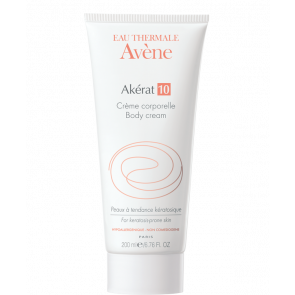 Avène Akérat 10 Body Cream 200ml