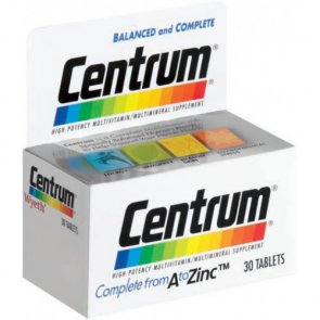 Centrum Multivitamin and Multimineral Complex 30 Tablets