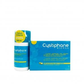 PACK PROMOCIONAL: Cystiphane Biorga Food Supplement Hair and Nails x120 + Shampoo 100ml