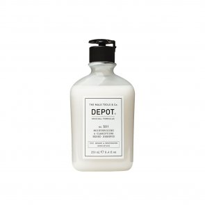 DEPOT No.501 Moisturizing & Clarifying Beard Shampoo 250ml