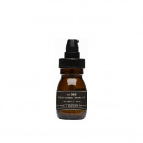 DEPOT No.505 Conditioning Beard Oil Leather & Wood 30ml
