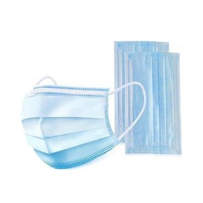 Disposable Surgical Face Mask 3-Ply Ear Loop x50