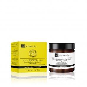 Dr. Botanicals 100% Natural Pro-Active Night Restoring Cream 50ml