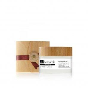 EDIÇÃO LIMITADA: Dr. Botanicals Advanced Bio Face Moisturiser Wooden Box 50ml
