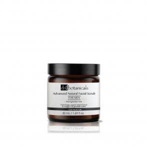 Dr. Botanicals Men Advanced Natural Facial Scrub Pomegranate Noir 50ml