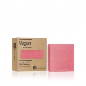 Dr. Botanicals Moroccan Rose & Rhubarb Nourishing Cleansing Bar 100g