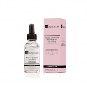 Dr. Botanicals Rose & Geranium Essential Oil 15ml