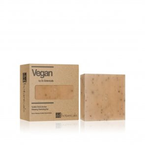 Dr. Botanicals Vanilla Chai & Amber Relaxing Cleansing Bar 100g