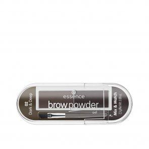 essence Brow Powder Set 02 Dark & Deep 2.3g