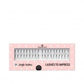 essence Lashes To Impress 01 Single Lashes