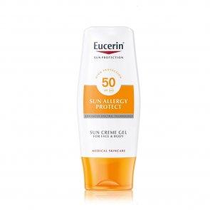 Eucerin Solar Creme-Gel Proteção Alergias FPS50 150ml
