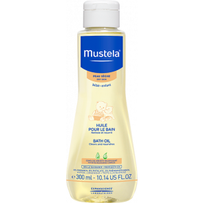 Mustela Baby Dry Skin Bath Oil 300ml