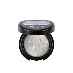 Flormar Diamonds Baked Eyeshadow 10 Silver Leaf Intense Glow 5g