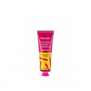 TRAVEL SIZE: Flormar Hand Cream 03 Cotton Candy & Vanilla 30ml