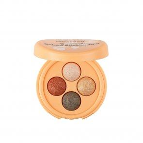 Flormar Healthy Glow Quartet Baked Eyeshadow 02 Balanced Glow 3g