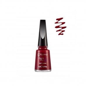Flormar Quick Dry Nail Enamel 06 Fiery Red 11ml