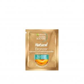 Garnier Ambre Solaire Natural Bronzer Self-Tanning Wipe 5.6ml