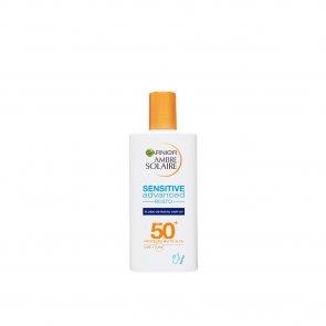 Garnier Ambre Solaire Sensitive Advanced Face Sun Fluid SPF50+ 40ml