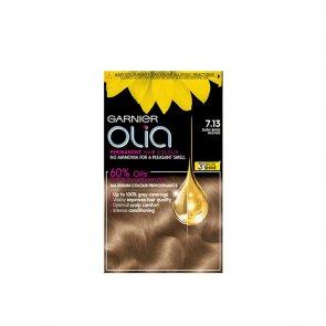 Garnier Olia 7.13 Permanent Hair Dye Dark Beige Blonde