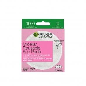 Garnier Skin Active Micellar Reusable Eco Pads x3