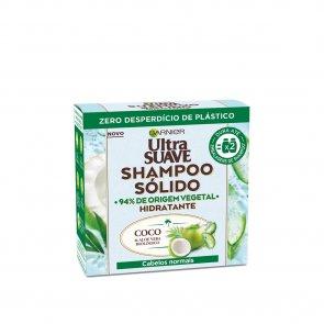 Garnier Ultra Doux Moisturizing Coconut & Aloe Vera Solid Shampoo 60g