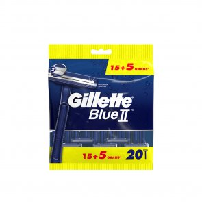 PROMOTIONAL PACK: Gillette Blue II Disposable Razors x20