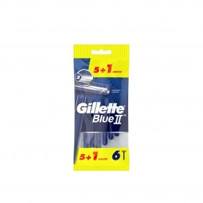 PROMOTIONAL PACK: Gillette Blue II Disposable Razors x6