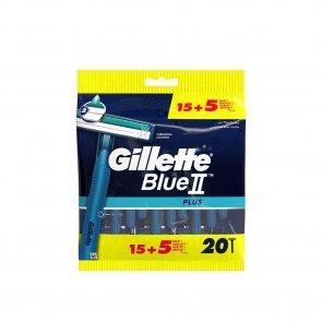 PROMOTIONAL PACK: Gillette Blue II Plus Disposable Razors x20