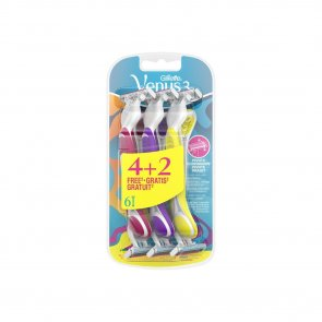 PROMOTIONAL PACK: Gillette Simply Venus 3 Disposable Razors x6
