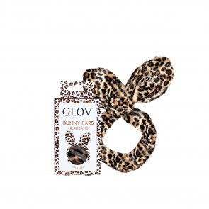 GLOV Bunny Ears Hairband Cheetah Safari Edition