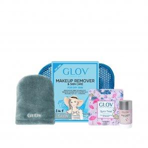GIFT SET: GLOV Travel Set Makeup Removal Kit For Dry Skin Blue
