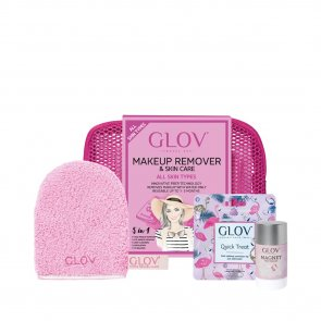 GIFT SET: GLOV Travel Set Makeup Removal Kit Pink