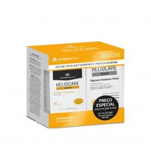 PROMOTIONAL PACK: Heliocare 360 D Plus Capsules x30 + Pigment Solution Fluid SPF50+ 50ml