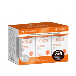 PACK PROMOCIONAL: Heliocare Ultra D Sun Capsules x90