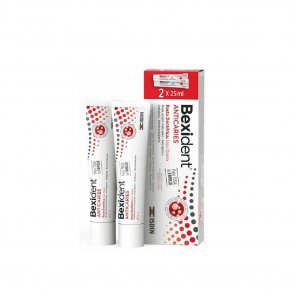 PROMOTIONAL PACK: ISDIN Bexident Anticavity Toothpaste 25ml x2