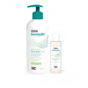 PACK PROMOCIONAL: ISDIN GermISDIN Aloe Vera Body Wash 500ml +  Hand Sanitizer Gel 120ml