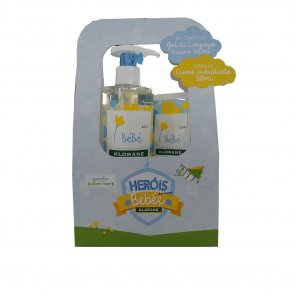 GIFT SET: Klorane Baby Gentle Cleansing Gel 500ml + Moisturizing Cream 200ml
