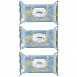 PACK PROMOCIONAL: Klorane Baby Gentle Cleansing Wipes x70 x3
