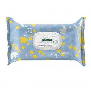Klorane Baby Gentle Cleansing Wipes x70