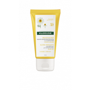 TRAVEL SIZE: Klorane Blond Highlights Conditioner with Chamomile 50ml