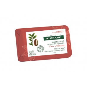 Klorane Body Hibiscus Flower Cream Soap 100g
