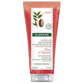 Klorane Body Gel Duche Nutritivo Flor Hibisco 200ml